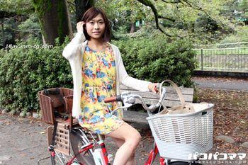 最新pacopacomama 032815_377 媽媽騎自行車,美人淫汁液附著座板 風見