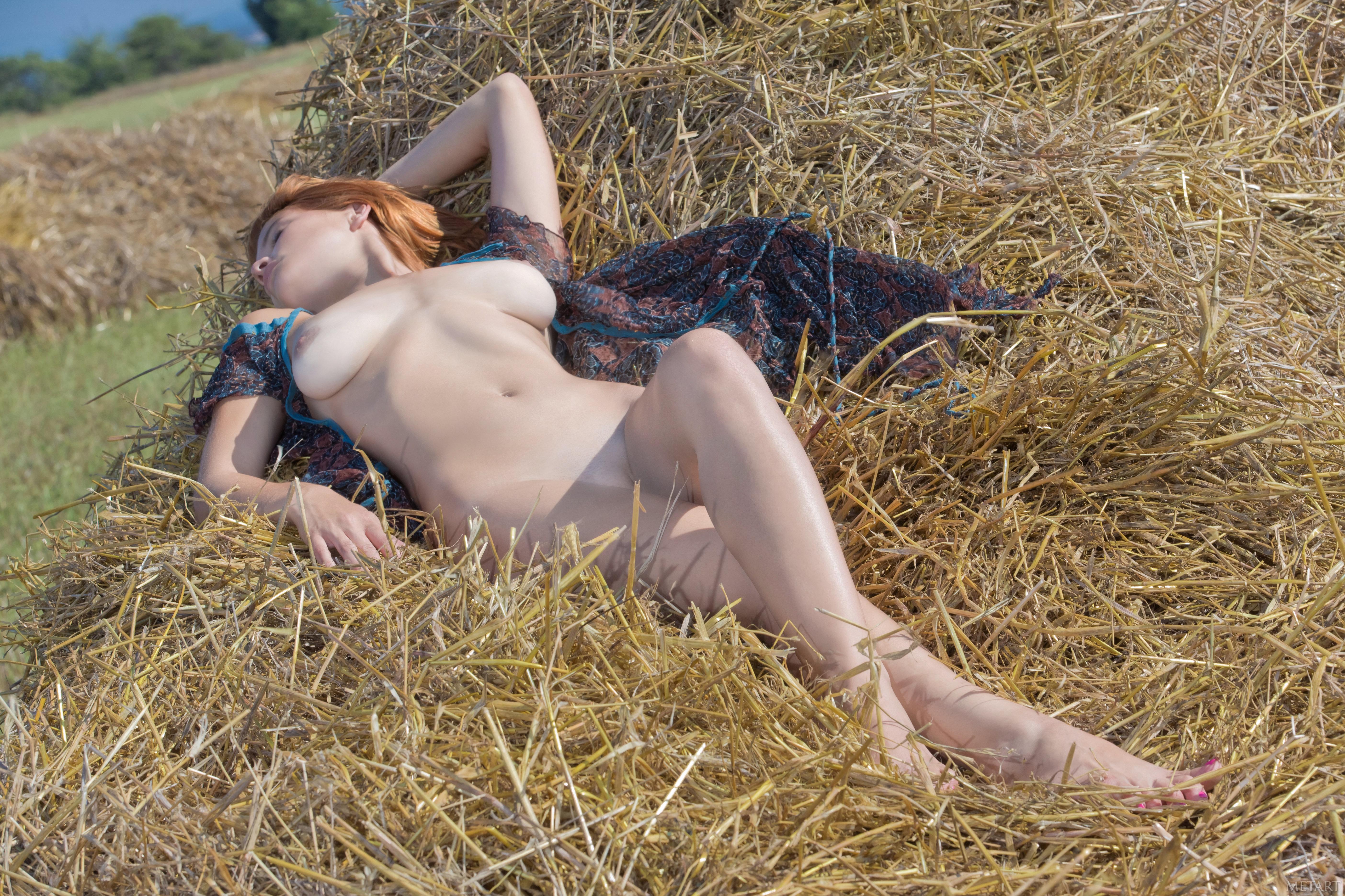 Деревенский красивый секс