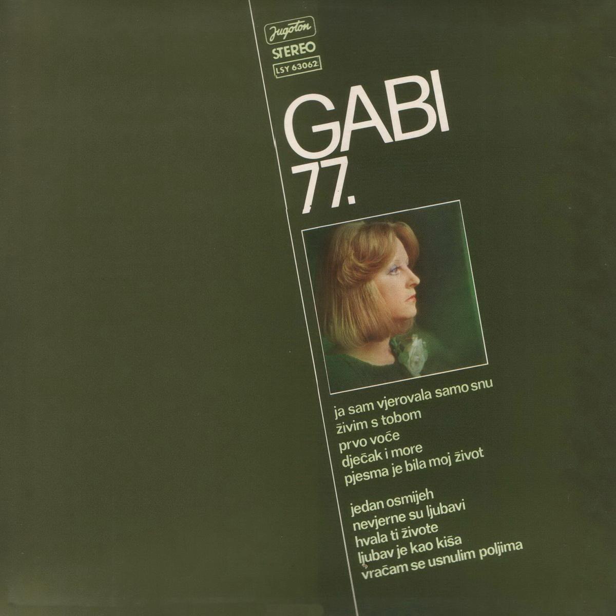 Gabi Novak 1977 Gabi 77 B